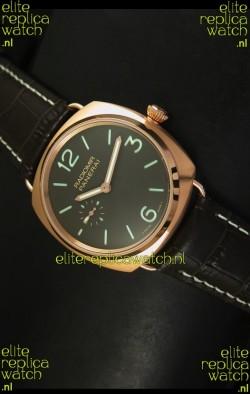 Panerai Radiomir Model PAM00336 Swiss Watch in Pink Gold - 1:1 Mirror Edition