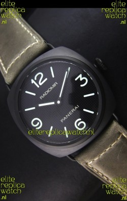 Panerai Radiomir PAM00643 Ceramica 45MM Swiss Watch - Unitas Movement