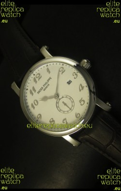 Patek Philippe Calatrava Stainless Steel Watch Japanese Movement