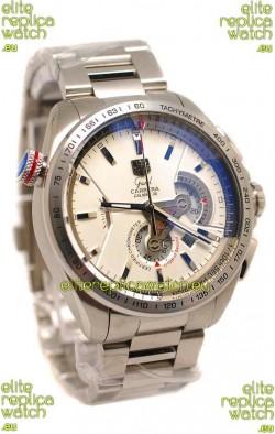 Tag Heuer Grand Carrera Calibre 36 Japanese Replica Steel Watch