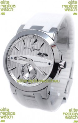 Ulysse Nardin Executive Dual Time White Watch
