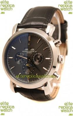 Vacheron Constantin Malte Perpetual Chronograph Japanese Steel Watch
