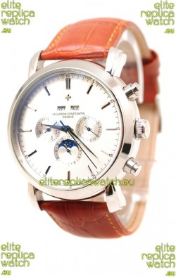 Vacheron Constantin Malte Perpetual Chronograph Japanese Replica Watch