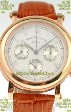 Franck Muller Geneve Swiss Chronograph Watch