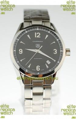 Tag Heuer Carrera Swiss Replica Automatic Watch in Black Dial