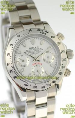 Rolex Daytona Silver Ladies Replica Watch