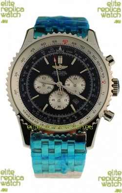 Breitling Navitimer Chronometre Japanese Watch in Black Dial