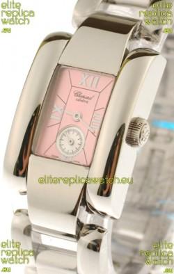 Chopard La Strada Swiss Ladies Swiss Watch in Pink Dial