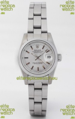 Rolex DateJust Silver-Lady's Replica Watch