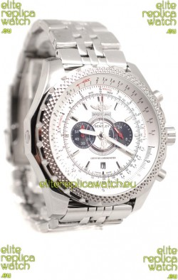 Breitling For Bentley Supersports Japanese Replica Watch in White Dial