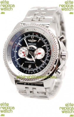 Breitling For Bentley Supersports Japanese Replica Watch in Black Dial