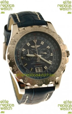 Breitling Chronograph ChronometreJapanese Replica Watch in Blue