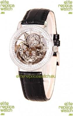 Vacheron Constantin Skeleton Diamonds Swiss Watch