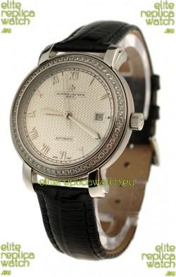 Vacheron Constantin Geneve Japanese Replica Watch in Roman Hour Markers