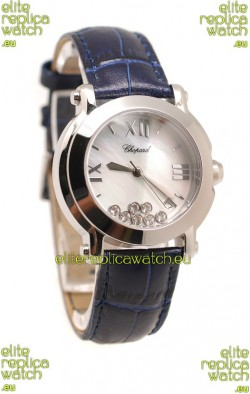 Chopard Happy Sport Ladies Swiss Replica Watch in White Dial