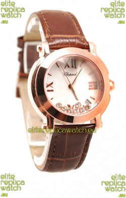 Chopard Happy Sport Swiss Ladies Watch in White Dial