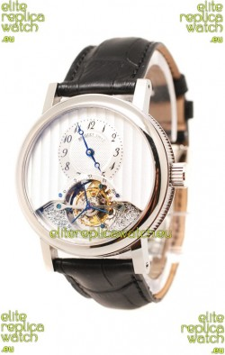 Breguet Grande Complication Tourbillon Co Axial Swiss Replica Watch in White