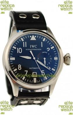 IWC Big Pilot Japanese Replica Watch in Black Dial