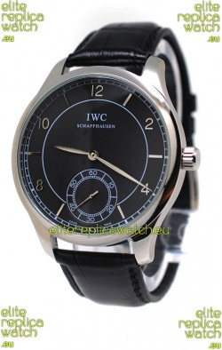 IWC Portugese Automatic Watch in Black Dial
