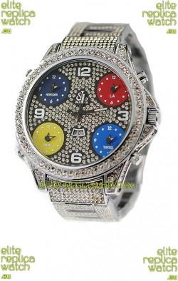 Jacob & Co Diamond Watch in Arabic Markers