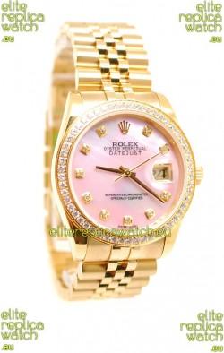 Rolex Datejust 2011 Edition Japanese Replica Gold Watch