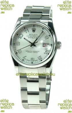 Rolex Datejust Japanese Replica Silver Watch