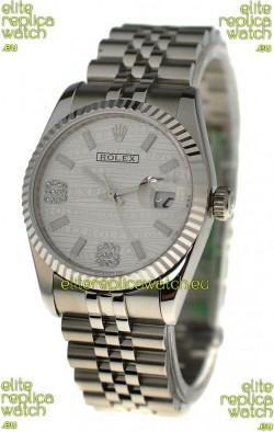 Rolex Datejust Silver Replica Watch
