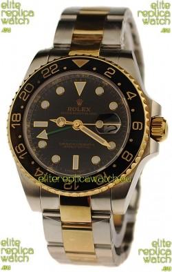 Rolex GMT Masters II Swiss Replica Two Tone Watch