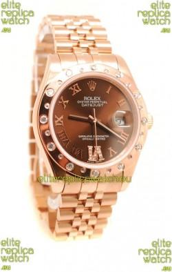 Rolex Datejust Gold  Replica Watch