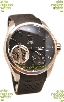 Tag Heuer Grand Carrera Pendulum Swiss Automatic Steel Watch