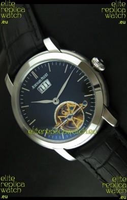 Audemars Piguet Jules Tourbillon Japanese Replica Watch in Dark Blue Dial