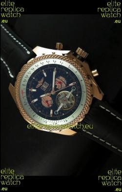 Breitling for Bentley Japanese Replica Tourbillon Watch