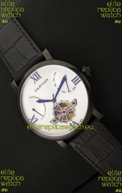 Cartier Calibre de Tourbillon PVD Swiss Watch