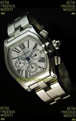 Cartier Roadster Swiss Chronograph Replica Watch - 1:1 Mirror Replica Watch