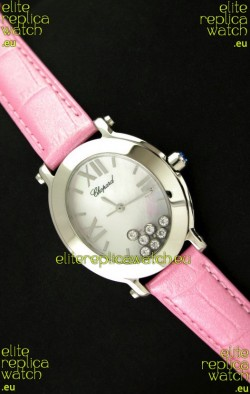 Chopard Happy Sport Ladies Japanese Replica Watch