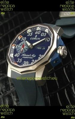 Corum Admiral's Cup Swiss Replica Watch in Blue Dial