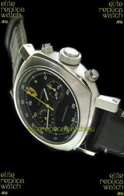 Ferrari Granturismo Swiss Replica Watch in Black Strap