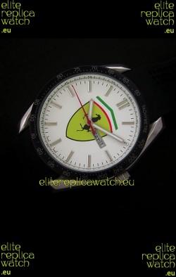 Ferrari Scuderia Watch in White Dial
