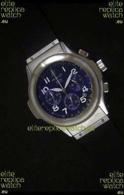 Hublot MDM Geneve Japanese Replica Watch in Blue Dial