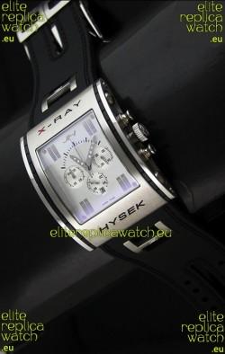 Jorg Hysek X- Ray Japanese Replica Watch in White Dial