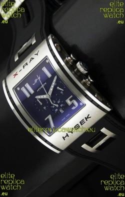 Jorg Hysek X- Ray Japanese Replica Watch in Blue Dial