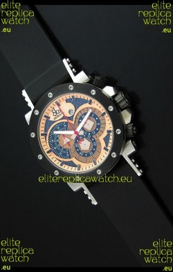 Jacob and Co. Manhattan Epic 2 Watch in Orange Dial