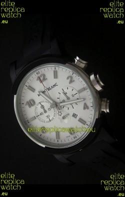 Montblanc Timewalker Watch Chrono in White Dial