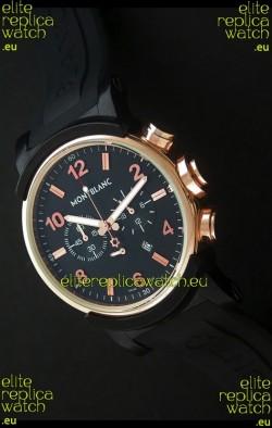 Montblanc Timewalker Chrono Watch in Rose Gold Casing