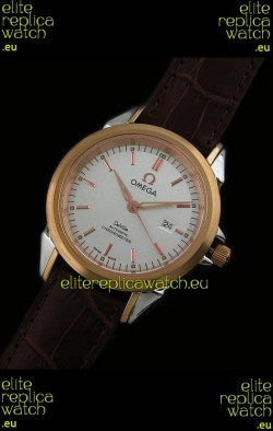 Omega Deville Escapement Mechanical Rose Golden Watch