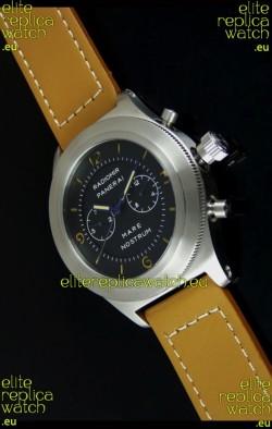 Radiomir Panerai Mare Nostrum Japanese Automatic Watch in Black Dial