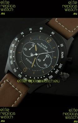 Radiomir Panerai Mare Nostrum Japanese PVD Automatic Watch