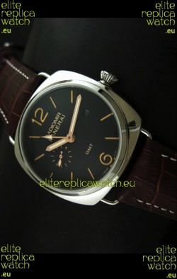 Panerai Radiomir PAM421 GMT Japanese Replica Watch in Black Dial