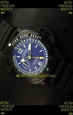 Panerai Luminor Submersible PAM193 Japanese Replica Watch Blue Dial