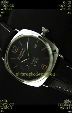 Panerai Radiomir 8 Days Japanese Replica Watch in Black Dial